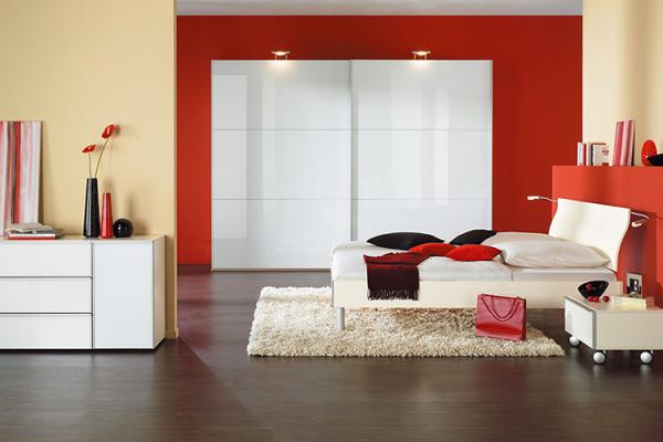 Chambre a coucher rouge related keywords suggestions - Peinture chambre a coucher ...
