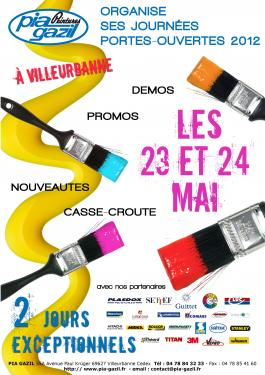 Pia Gazil : journes portes-ouvertes les 23 et 24 mai 2012