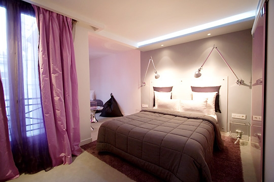 Chambre Adulte Mur Violet Decoration