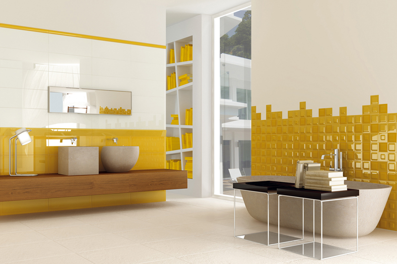 d co salon jaune et rouge. Black Bedroom Furniture Sets. Home Design Ideas