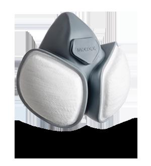 Demi masque Ultra compact Moldex chez Pia Gazil Peintures